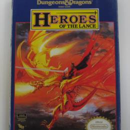 Advanced Dungeons & Dragons: Heroes of the Lance, FCI, 1991
