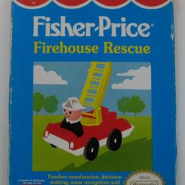 Fisher-Price: Firehouse Rescue, Gametek, 1992