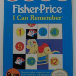 Fisher-Price: I Can Remember, Gametek, 1990