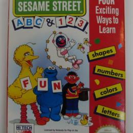 Sesame Street 1-2-3 & A-B-C, Hi Tech, 1987