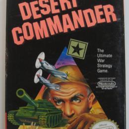 Desert Commander, Kemco, 1989