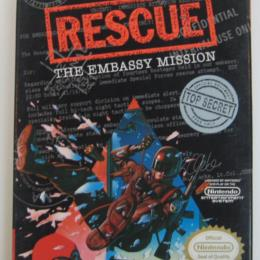 Rescue: The Embassy Mission, Kemco, 1990