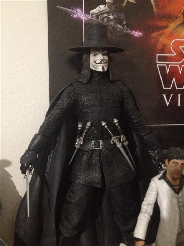 NECA 12 Inch V Vendetta collected in Figure Collection by ...