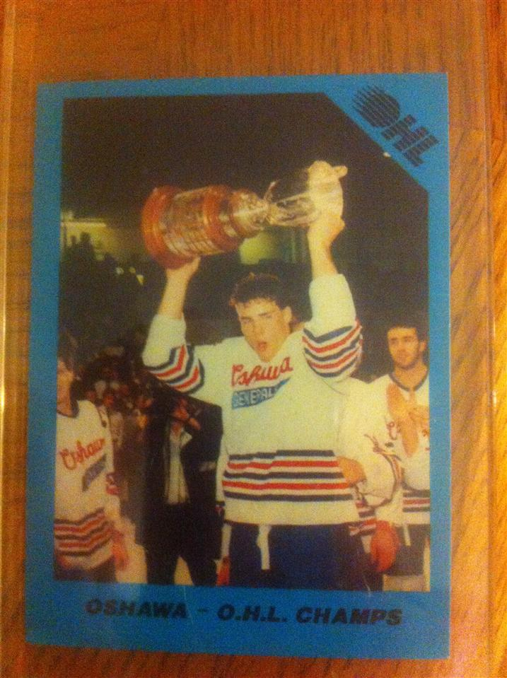 Eric Lindros 1990 Memorial Cup Card #99
