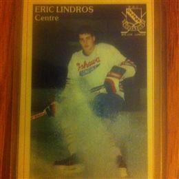 Eric Lindros Oshawa General 'Police' Card #31