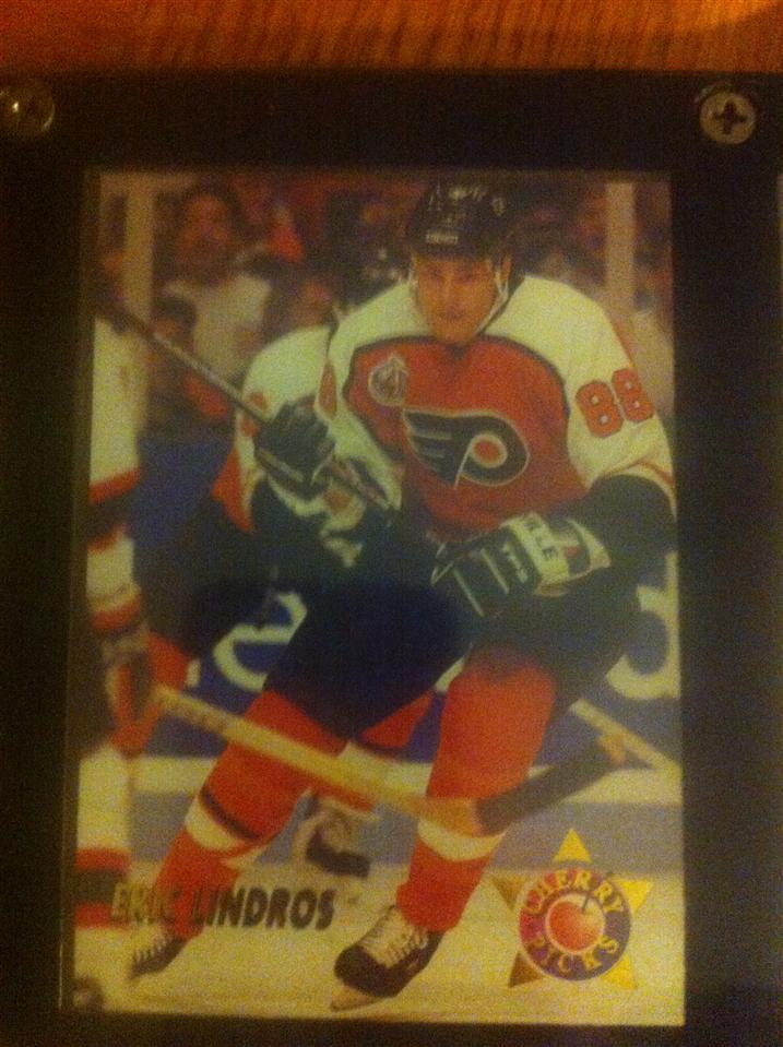 Eric Lindros 1993 Parkhurst Cherry Picks Card #6 of 20