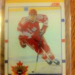 Eric Lindros 1991 Score World Junior Championships Card #88T