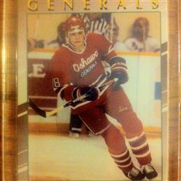 Eric Lindros 1991 Score Oshawa General Young Superstar Card #30