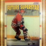 Eric Lindros 1990 Score Future Superstar Card #440 (Rookie Card - English version)