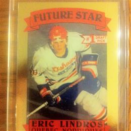 Eric Lindros 1991 Aamer Sports Future Star Card #3443 of 10,000