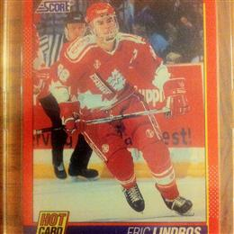Eric Lindros 1991 Score Hot Card #1