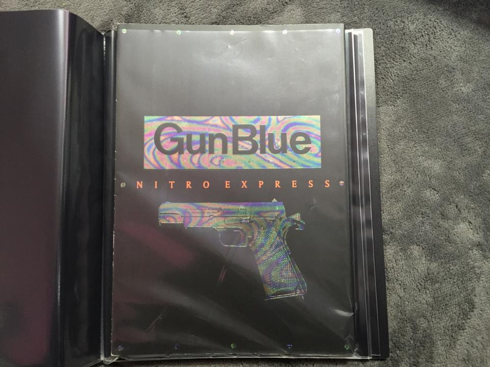 Gun Blue NITRO EXPRESS (Japan)