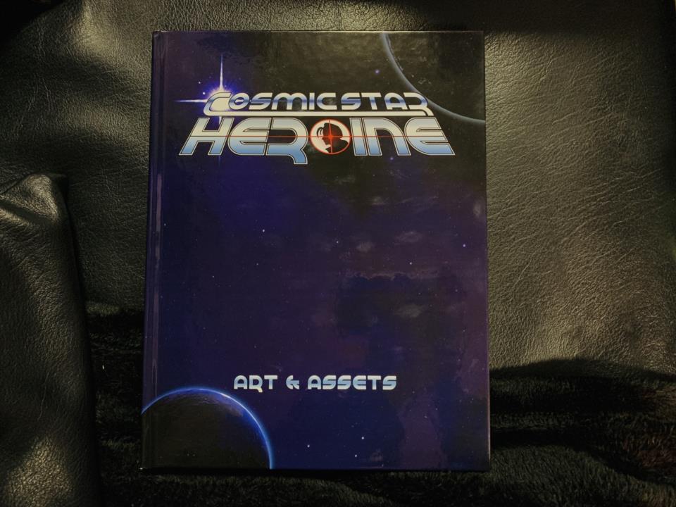 COSMIC STAR HEROINE ART & ASSETS (US)