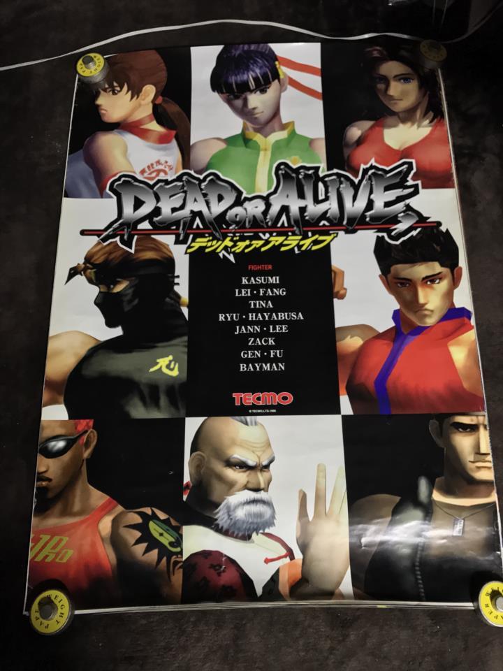 DEAD OR ALIVE Arcade (Japan)