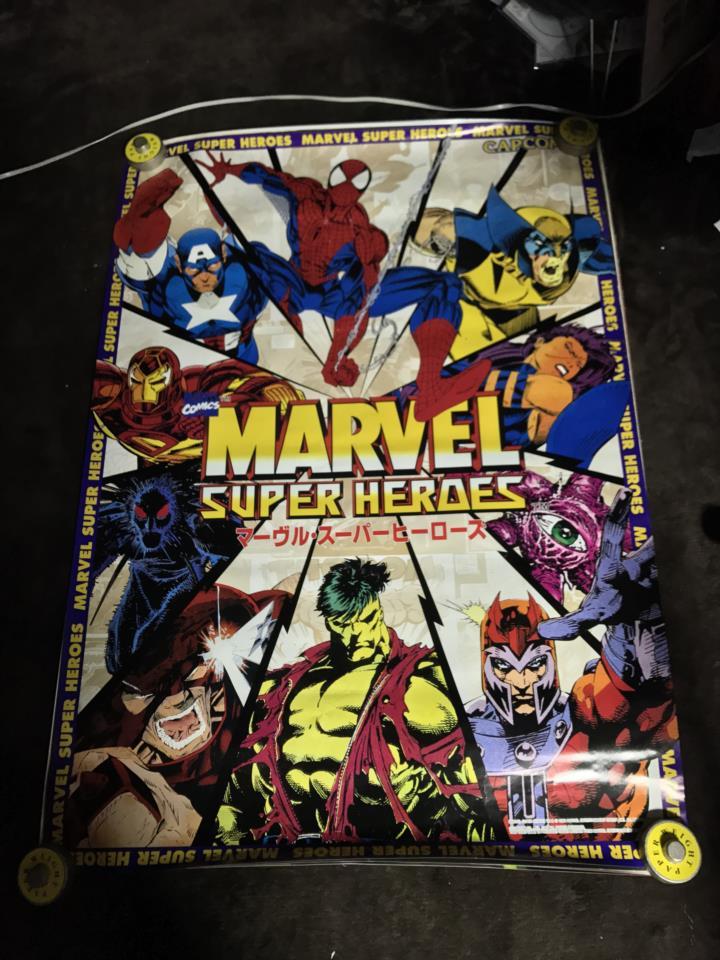 MARVEL SUPER HEROES Arcade (Japan)