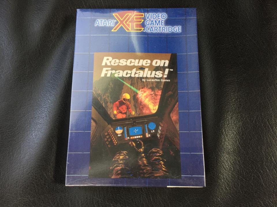 Rescue in Fractalus! (US) by LucasFilm Games