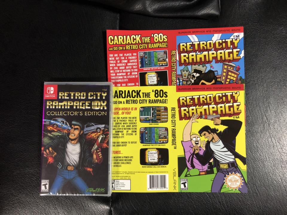 RETRO CITY RAMPAGE DX COLLECTOR'S EDITION (US) by VBLANK ENTERTAINMENT