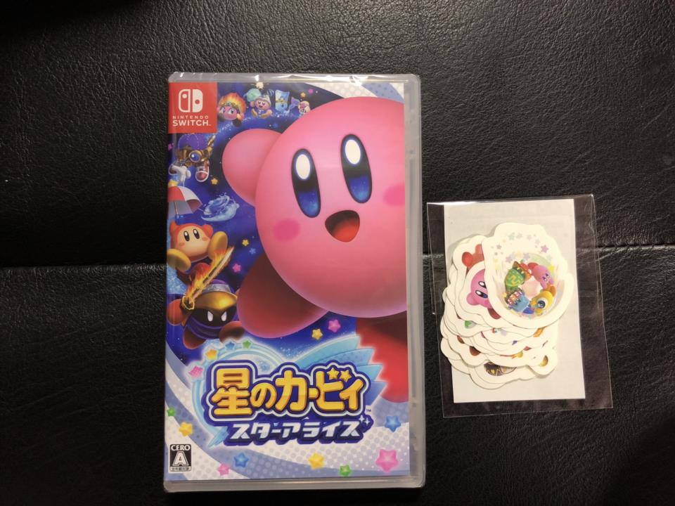 Kirby: Star Allies (Japan) + Amazon.co.jp Stickers by HAL