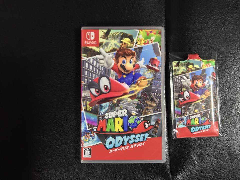SUPER MARIO ODYSSEY (Japan) + Amazon.co.jp Screen Cleaner by Nintendo
