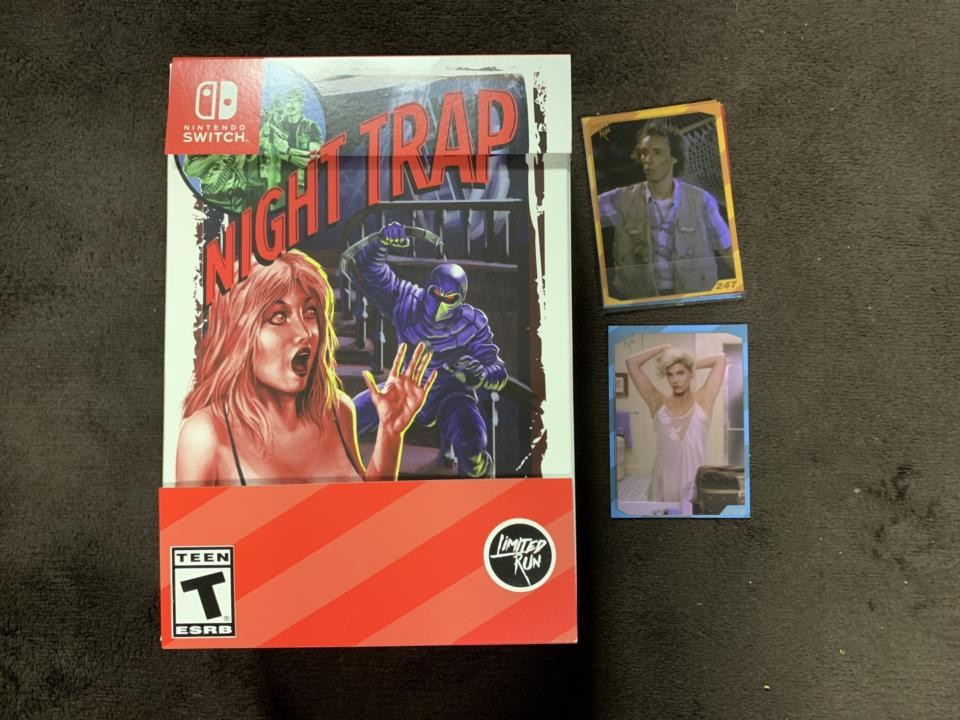 NIGHT TRAP CLASSIC EDITION (US) by SCREAMING VILLAINS