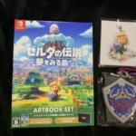 THE LEGEND OF ZELDA: Dream Island ARTBOOK SET + Amazon.co.jp Rubber Pass Holder (Japan) by Nintendo/GREZZO