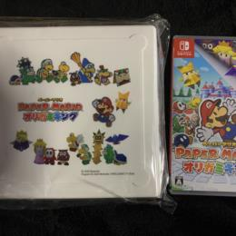 PAPER MARIO: ORIGAMI KING (Japan) + GEO Origami Case by INTELLIGENT SYSTEMS
