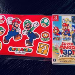 SUPER MARIO 3D COLLECTION (Japan) + Amazon.co.jo Limited Stickers by Nintendo