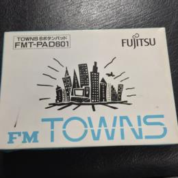 FM TOWNS 6 Button Pad (Japan) by FUJITSU