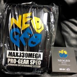 NEO GEO Mini Art Backpack Sack Set (Japan) by SNK
