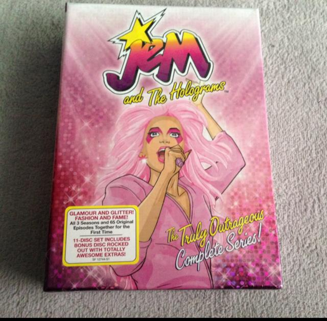 JeM and The Holograms The Truly Outrageous Complete Series! (US)