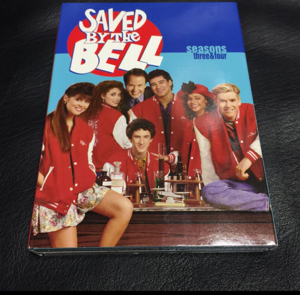 SAVED BY THE BELL season 3 & 4
