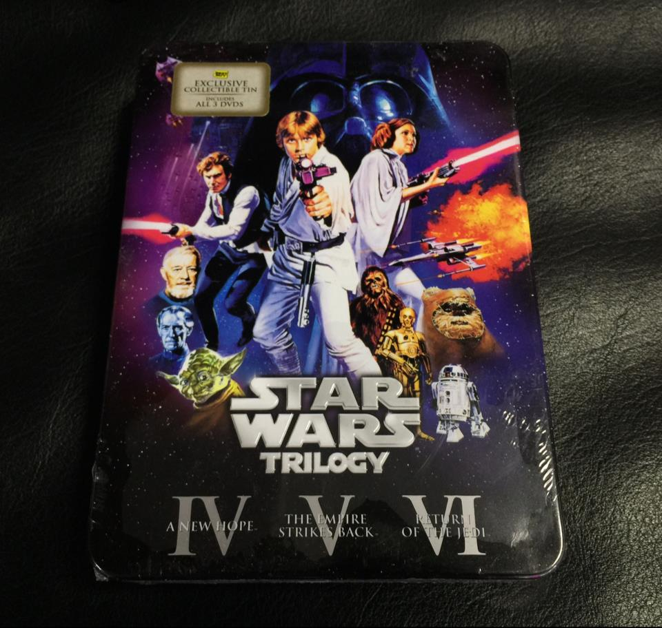 STAR WARS TRILOGY BEST BUY EXCLUSIVE COLLECTIBLE TIN (US)