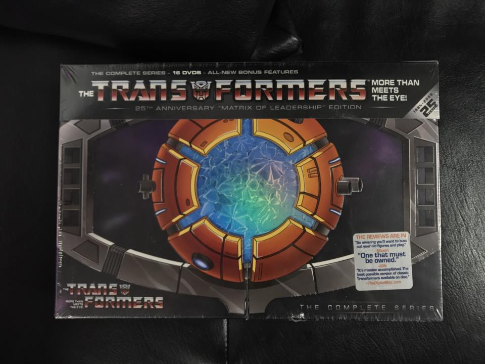 THE TRANSFORMERS 25TH ANNIVERSARY MATRIX OF LEADERSHIP EDITION (US)