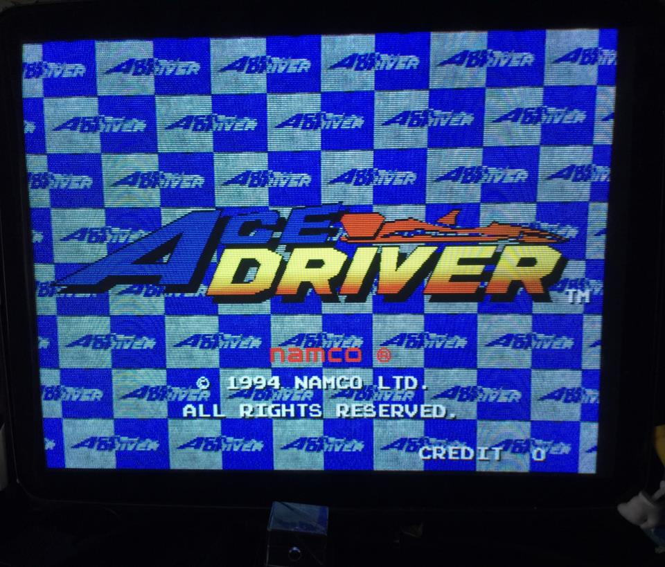 ACE DRIVER (Japan) by namco