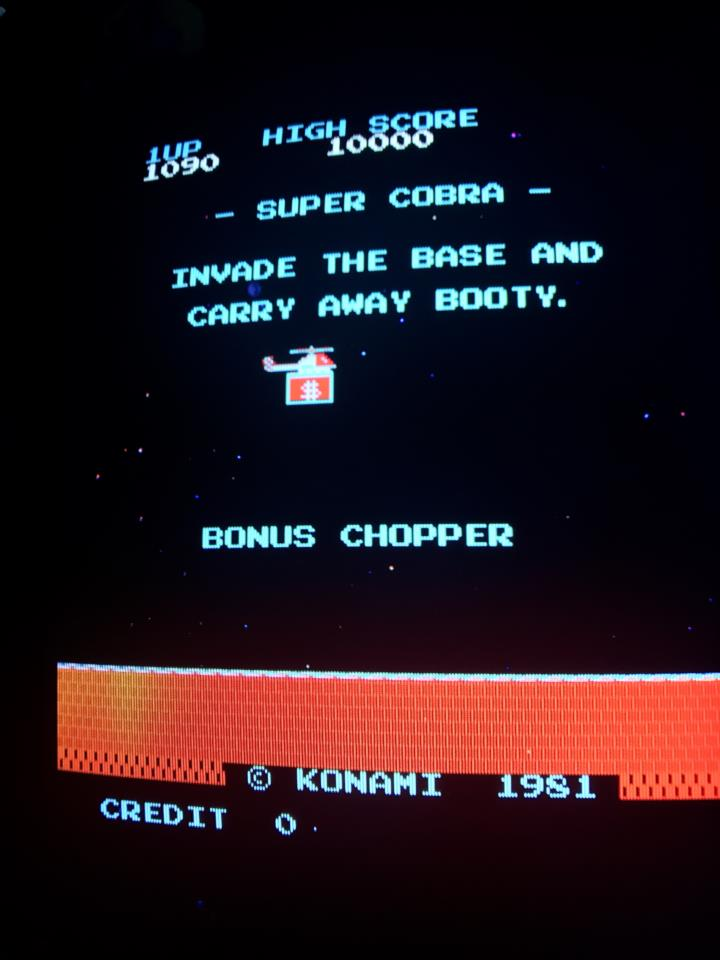 SUPER COBRA (Japan) by KONAMI