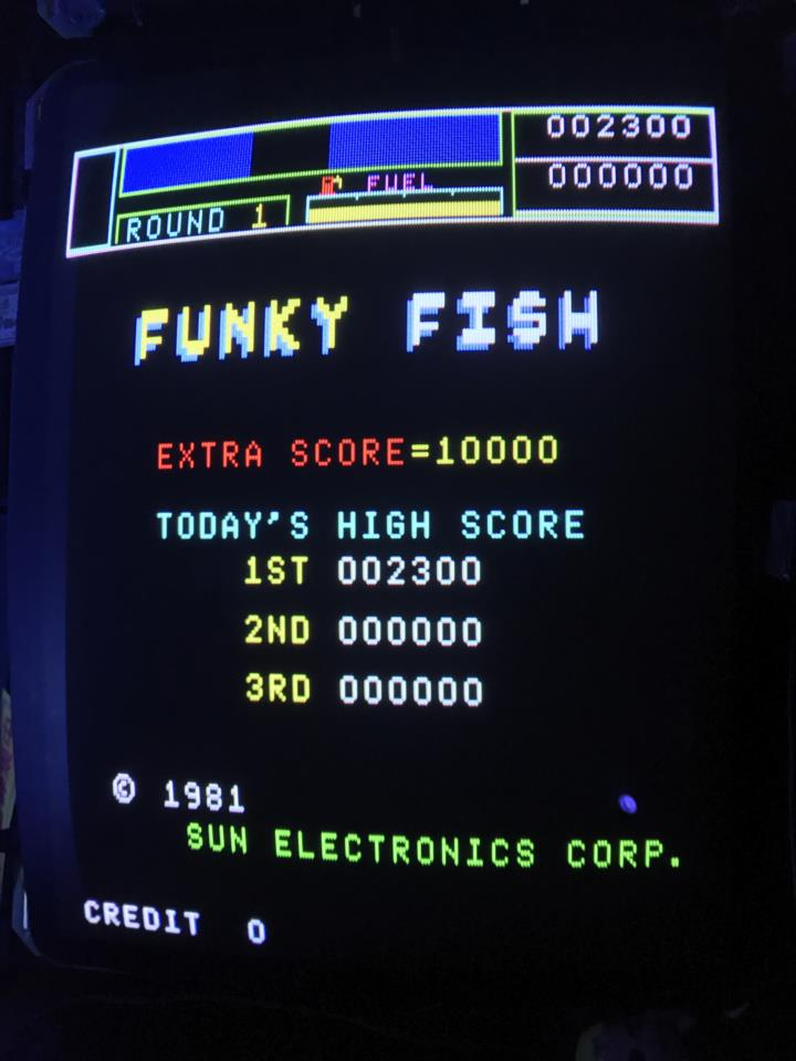 FUNKY FISH (Japan) by SUNSOFT
