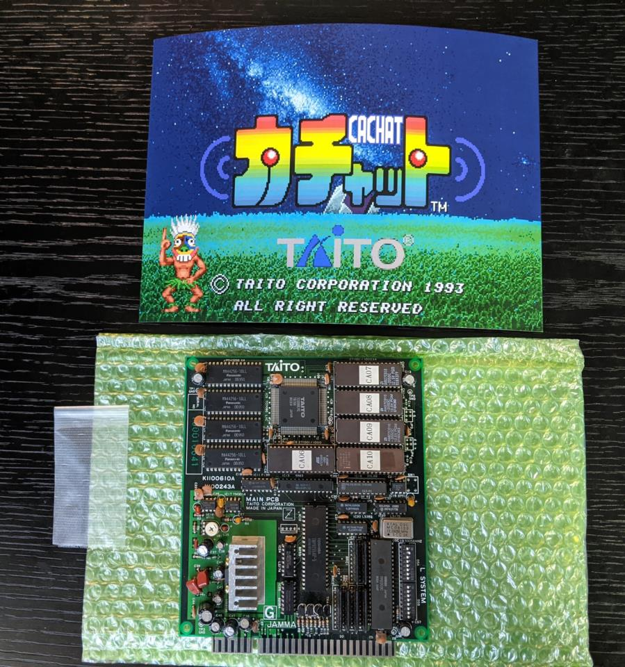 CACHAT (Japan) by TAITO