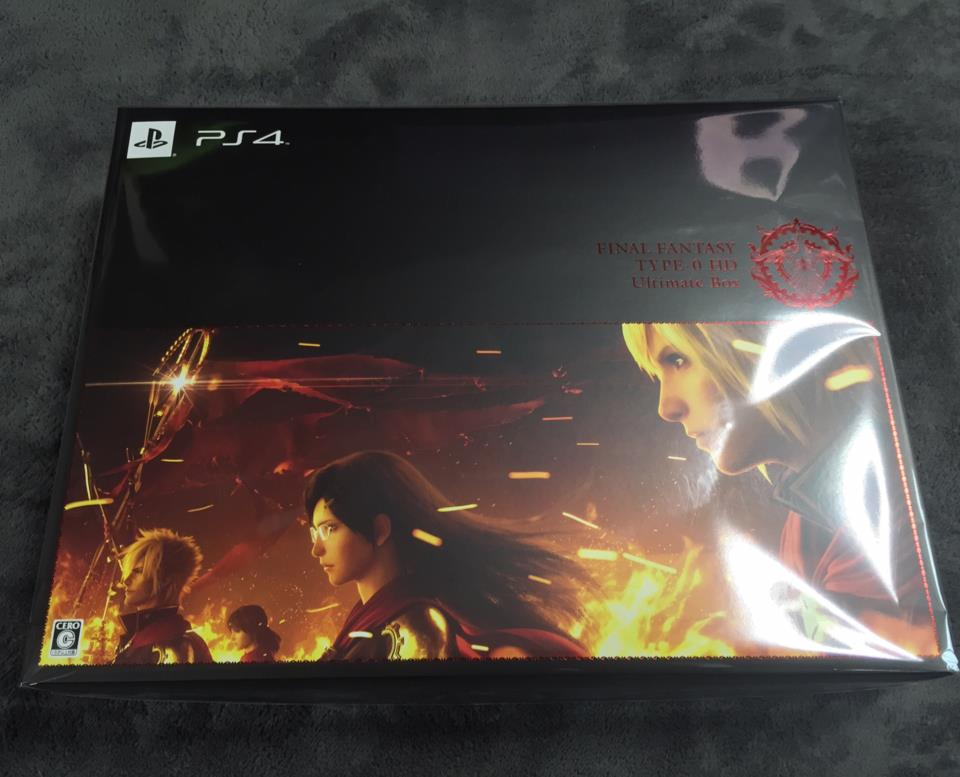FINAL FANTASY TYPE-0 HD Ultimate Box (Japan) by SQUARE