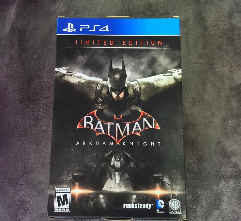 BATMAN: ARKHAM KNIGHT LIMITED EDITION (US) by rocksteady