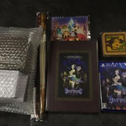 ODIN SPHERE: LEIFDRASIR Famitsu DX Pack 3D Crystal Set (Japan) by VANILLAWARE