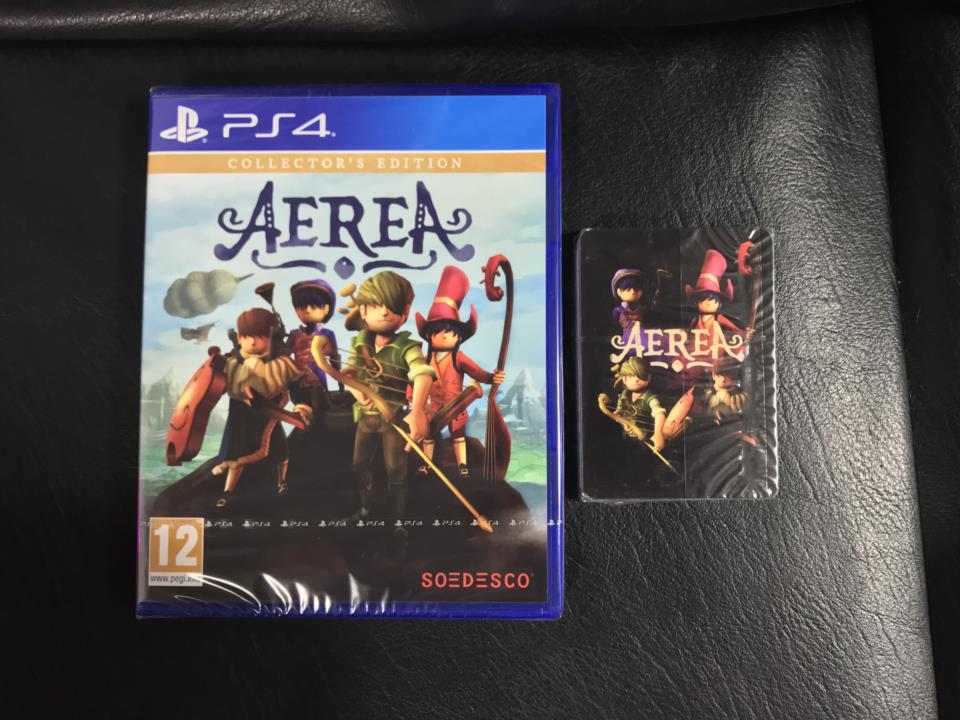 AEREA COLLECTOR'S EDITION (Asia) by TRIANGLE STUDIOS