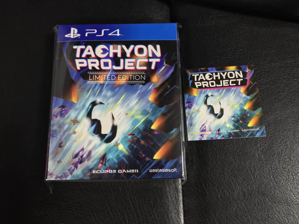 TACHYON PROJECT LIMITED EDITION (Asia) by ECLIPSE GAMES