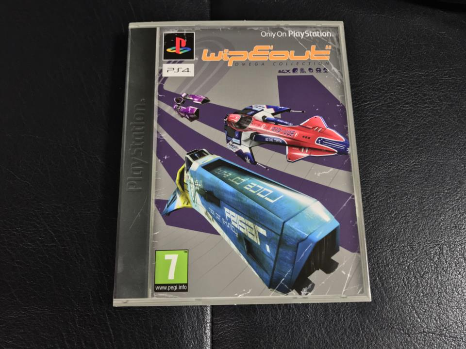 Wipeout OMEGA COLLECTION (EU) by CLEVER BEANS