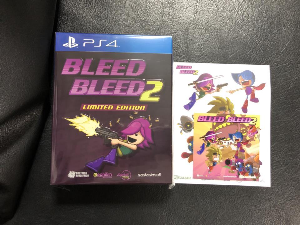 BLEED/BLEED 2 LIMITED EDITION (Asia) by BOOTDISK REVOLUTION