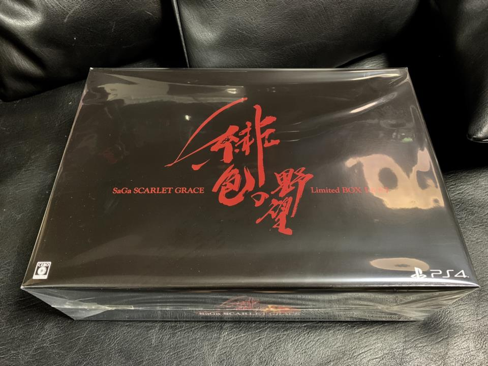 SaGa: SCARLET GRACE Limited BOX (Japan) by SQUARE