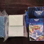 TEAM SONIC RACING DX Pack 3D Crystal Set (Japan) by SUMO DIGITAL