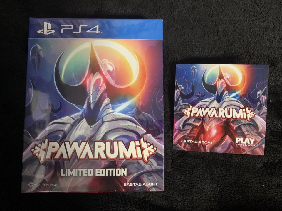 PAWARUMi LIMITED EDITION (Asia) by manufacture43