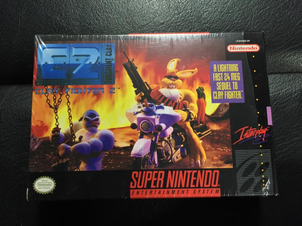 CLAY FIGHTER 2 (US) by Interplay