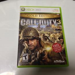 CALL OF DUTY 3 GOLD EDITION (US) by TREYARCH