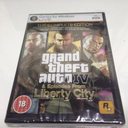 grand theft auto IV THE COMPLETE EDITION (UK) by ROCKSTAR NORTH/TORONTO